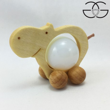 Hippopotamus balls holder